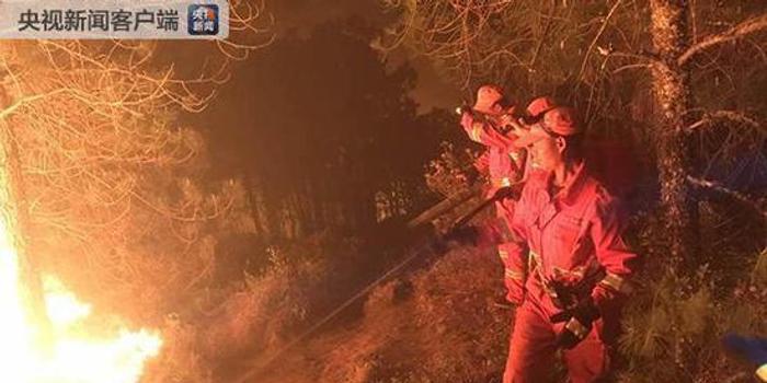 3d彩吧助手_云南鹤庆森林火灾1700多人参与扑救 东线仍有明火