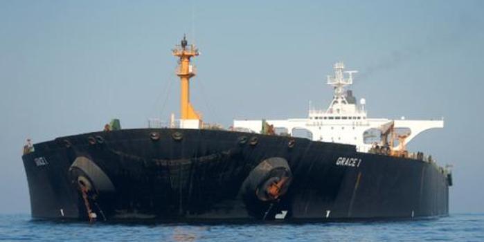 伊朗:獲釋油輪正準備駛入地中海(圖)