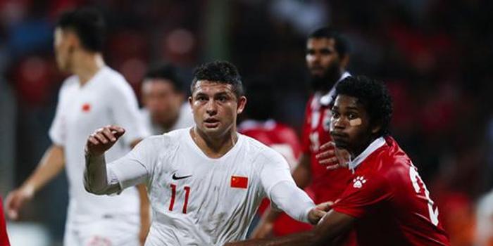 国足开门红 世预赛首战5-0完胜马尔代夫