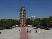 历时近70天行程超3万里 报道组抵达长征胜利会师地甘肃会宁