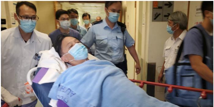 何君尧遇袭 香港各界谴责暴徒袭击行为