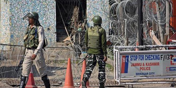 巴控克什米尔数千民众抗议印控克什米尔被封锁