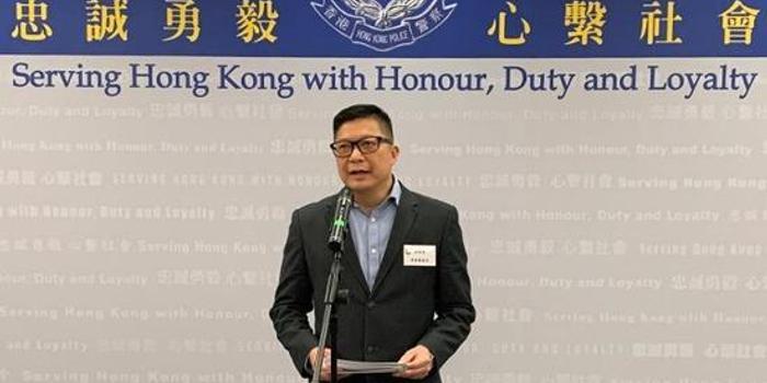 港警一哥邓炳强:美国不卖装备 可从其他地区买