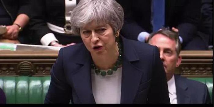 英下议院否决无协议脱欧 脱欧进程陷入僵局