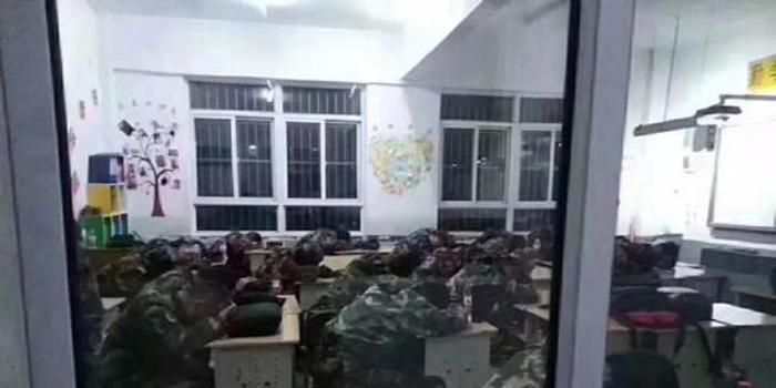 响水救援武警临时驻扎教室 转移后留下这些(图)