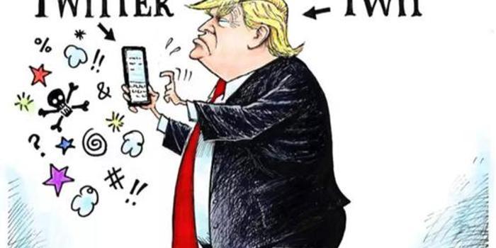 这一条推特 特朗普很可能泄密了