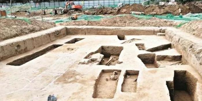 太原师范学院旧址发现古墓群 文物部门已介入
