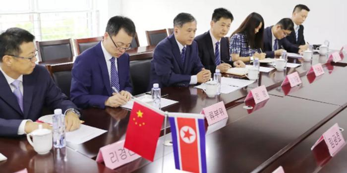 退役军人事务部副部长会见朝中友好协会副委员长