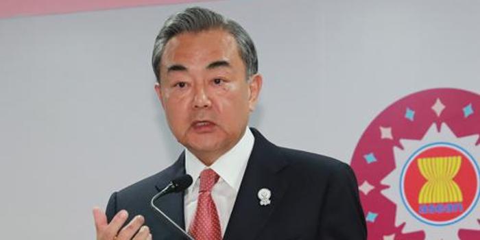 """王毅回應對""""南海行為準則""""磋商的四個疑問"""