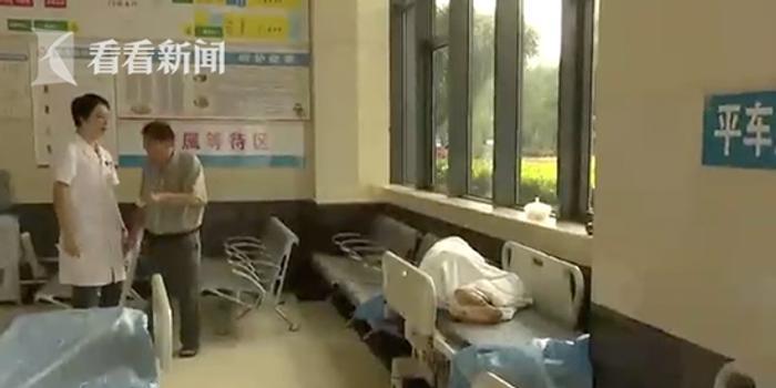 男子躺医院急诊室吃喝拉撒1个多月 家属拒绝露面
