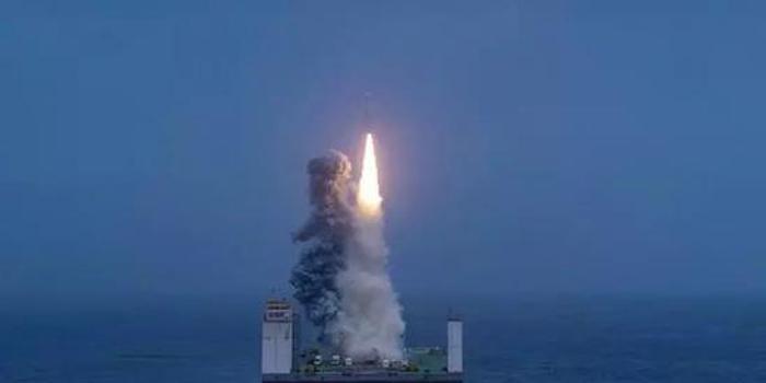 """軍民兩用的火箭海上發射 幾大""""首次""""不同尋常"""