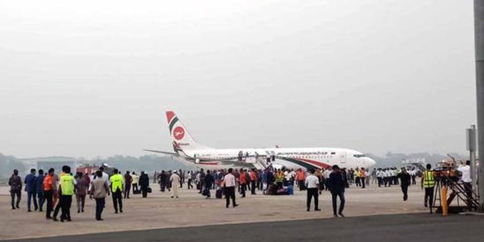 孟加拉国一架民航客机遭劫持迫降 嫌疑人已被抓获