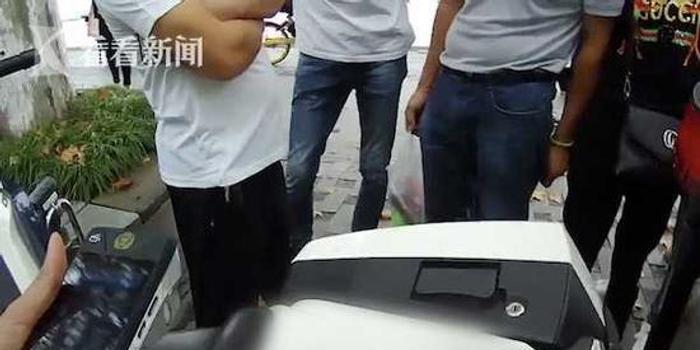 这辆宝马车改装出16个排气孔 结果一上路就被抓