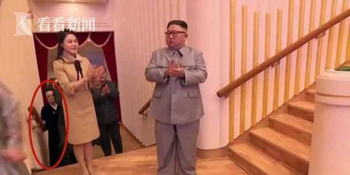 朝央视罕见报道 6年后露面金正恩姑姑多达9处镜头