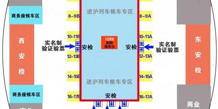 11月2日起北京南站對進滬列車實行二次安檢