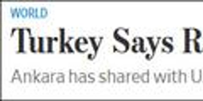 沙特知名记者在本国领馆遭分尸?土耳其:有证据