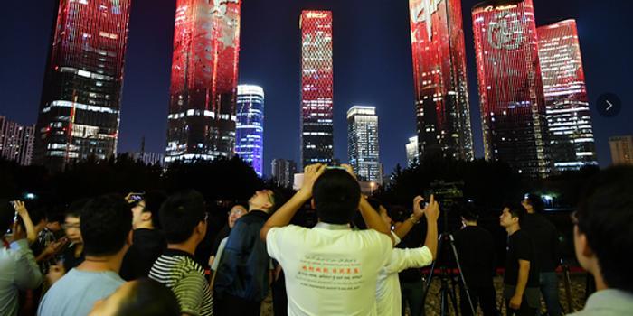 国庆期间 北京国贸望京三里屯等地将有国庆灯光秀