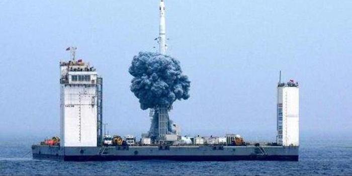 繼首次海上發射火箭后 我國將建首個海上發射母港