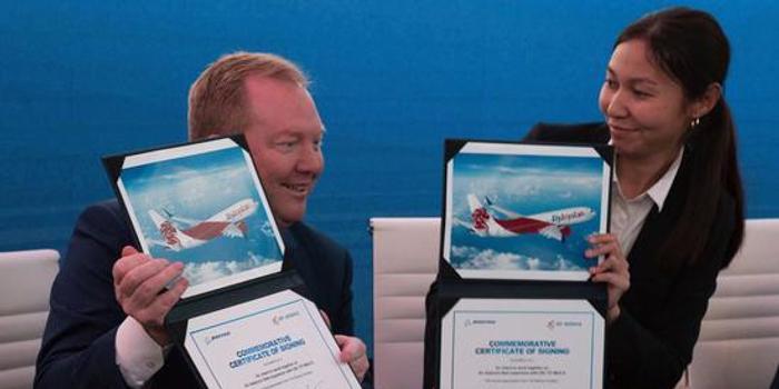 波音在迪拜获70亿美元737 MAX新订单