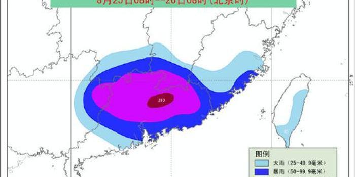 台风白鹿在福建再次登陆 中心附近最大风力10级