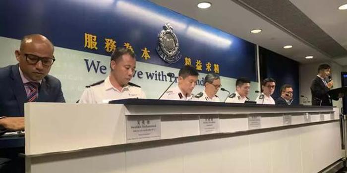 香港警方发现暴徒新动向