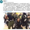 香港暴徒腳踹港警頭部 15歲女暴徒及其同夥被捕