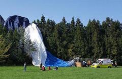 韩济州岛一热气球撞山致1人死亡12人受伤