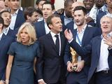 法国总统马克龙接见夺冠法国