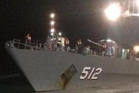 177人被困 泰国军舰救中俄游客