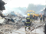 广州1000平米泡沫厂房起火 无人员伤亡