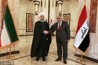 伊朗总统鲁哈尼访问伊拉克 上任以来首次