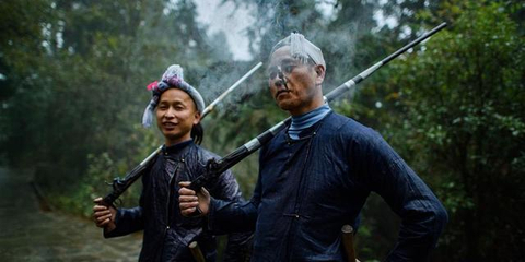 中国最后一个枪手部落
