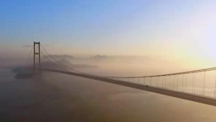 中国大桥让人沸腾到血液倒流