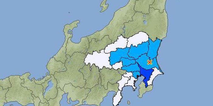日本茨城县发生里氏4.4级地震 震源深度50千米
