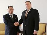 韩媒: 美方通过板门店向朝方转交美国务卿信函