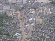 日本多地降雨量达历史高位 已影响超过10万名旅客