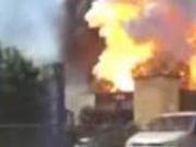 捉谣记|上海发生爆炸?警方:嫁接意大利罐车爆炸视频