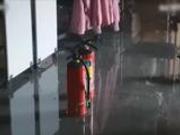 视频:台北失火医院内部画面曝光