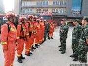 江苏千名消防官兵驰援寿光灾区 预计27日零时抵达