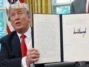 外媒评特朗普宣布对朝制裁延长一年:或随时翻脸