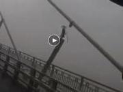 捉谣记|苏通大桥斜拉索断裂?其实是阻尼器脱落