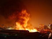 高层楼房发生火灾  逃生知识能救命