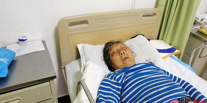 成都六旬太婆遇车祸入院神志不清 急寻家人(图)
