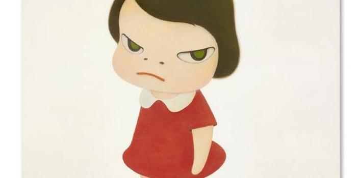 奈良美智《背后藏刀》拍出1.96亿港元(图)