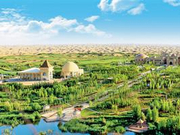 """库布其治沙模式是""""绿水青山就是金山银山""""理念的经典样本"""