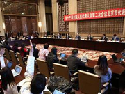 全国人大北京代表团举行开放团组活动(图)