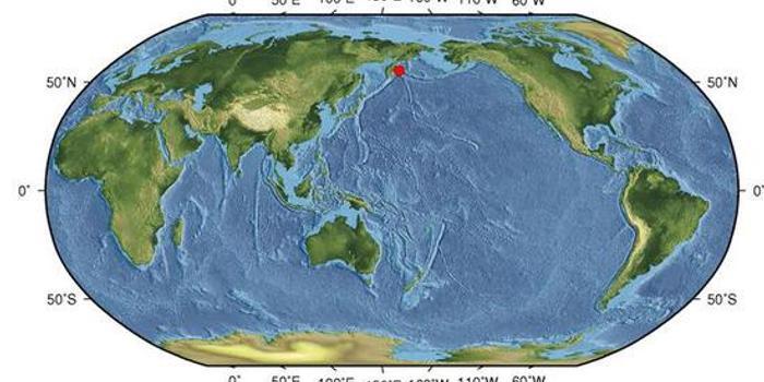 科曼多尔群岛地区发生5.4级地震 震源深度10千米