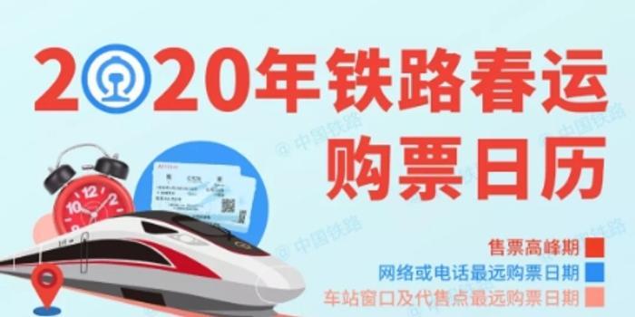 2020年春运车票明起开售 繁忙线路将开夜间高铁