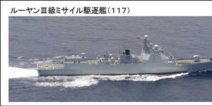 今年以來規模最大 中國海軍6艘軍艦過宮古海峽