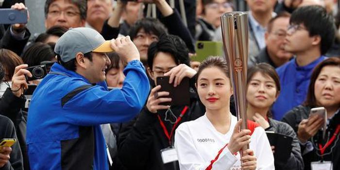 东京奥运火炬手彩排 圣火将于3月26日开始传递